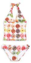 Zara Terez Girl's Donuts Halter Swimsuit