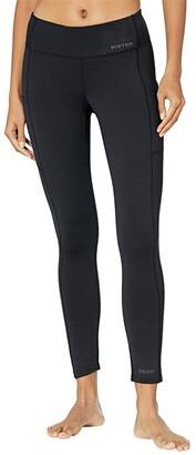 Burton Heavyweight X Base Layer Pants (True Black) Women's Casual Pants
