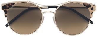 Jimmy Choo Eyewear leopard print Lue sunglasses