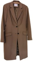 BOSS Beige Wool Coat for Women
