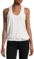 Joie Mal Silk Tank Top, White