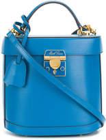 Mark Cross top handle bucket bag
