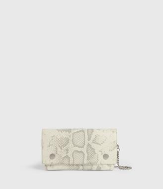 AllSaints Albert Leather Wallet
