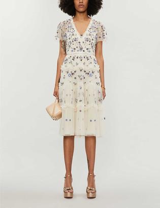 Needle And Thread Flora tulle prairie dress