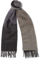 Paul Smith - Dégradé Wool And Cashmere-blend Scarf