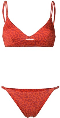 Sian Swimwear Leopard Print Swim Set