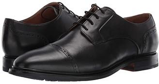 Bostonian Bridgeport Cap (Black Leather) Men's Shoes