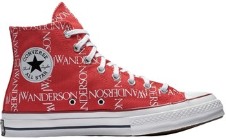 J.W.Anderson Converse X Red Cloth Trainers