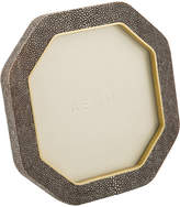 AERIN Shagreen Octagonal Frame - Chocolate
