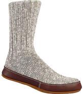 Acorn Slipper Sock - Grey Cotton Twist Slippers