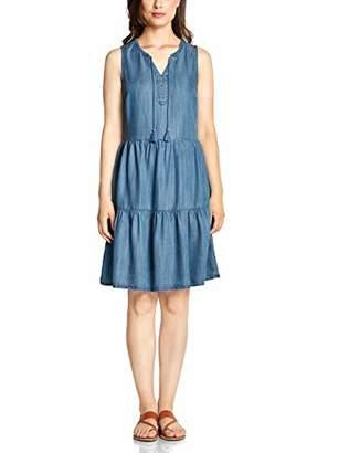 Cecil Women's 142459 Dress, mid Blue wash 10283, L
