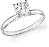 Bloomingdale's Diamond Round Brilliant Cut Solitaire Ring in 14K White Gold, 1.0 ct. t.w. - 100% Exclusive