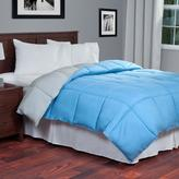 Lavish Home Reversible Blue/Grey Down Alternative King Comforter