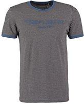 Teddy Smith Ticlass Print Tshirt Anthracite Chine/indigo