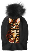 Dolce & Gabbana Cashmere Hat with Fox Fur