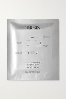 111SKIN Meso Infusion Overnight Micro Mask X 4