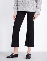 J Brand Carolina flared high-rise jeans