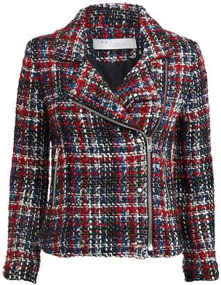 IRO Sloane Tweed Moto Jacket