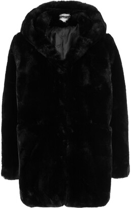 Apparis Marie hooded faux-fur coat