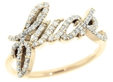 Campise F Diamond Ring