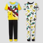 Pokemon Boys' Pajama Set - Yellow