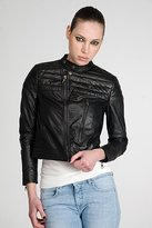 Acne Danger Black Leather Jacket