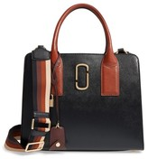 Marc Jacobs Big Shot Leather Tote - Black