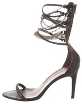 Isabel Marant Rio Chain-Link Leather Sandals