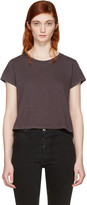 RE/DONE Re-done Black 1950s Boxy T-shirt