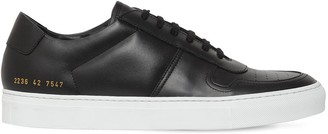 Common Projects LEATHER SNEAKERS W/PERFORATED DETAILS
