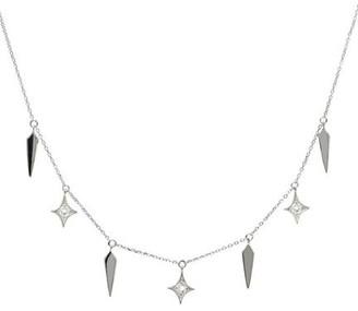 Dagger Gothic Diamond Necklace