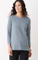 J. Jill Ponte Knit Houndstooth Top