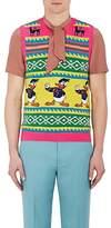 Gucci Men's Mixed-Pattern Wool Vest