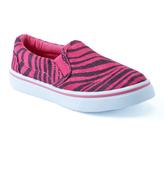 Pink Label Fuchsia Zebra Slip-On Shoe