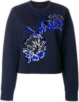 Diesel Black Gold printed flower jumper