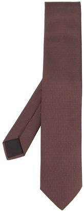 Hermes 2000s pre-owned jacquard H motif tie