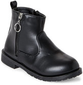 yokids (Toddler Girls) Black Sydney Side-Zip Booties