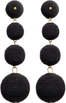 Kenneth Jay Lane 'Carnival' threaded sphere drop earrings