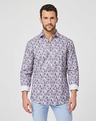 Le Château Floral Print Cotton Regular Fit Shirt