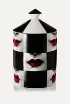Fornasetti Labbra Scented Candle, 300g - Black