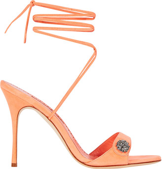 Manolo Blahnik Sabisa 105 Strappy Sandals
