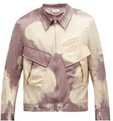 Bed J.W. Ford Bed J.w. Ford - Bleached Cotton And Silk Jacket - Mens - Pink