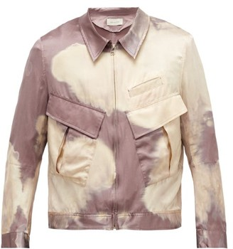 BED J.W. FORD Bleached Cotton And Silk Jacket - Pink