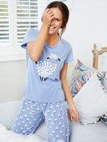 M&Co Sheep print pyjamas