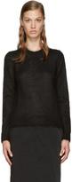 Comme des Garcons Black Mohair Sweater