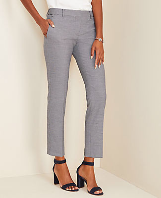 Ann Taylor The Petite Ankle Pant in Plaid