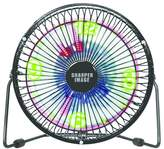 "Sharper Image 6"" 2-Speed Table Top Fan - Black"