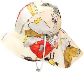 Lanvin sailor's printed hat