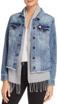 Scotch & Soda Layered-Look Denim Jacket