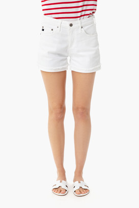 AG Jeans White Hailey Jean Short